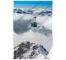 Les Menuires Cable Car (II) Poster
