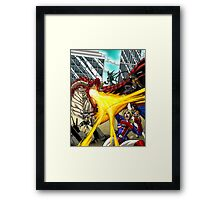 Super Powered Bestiary Framed Print