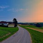 Country road on a summer afternoon II | landscape photography by Patrick Jobst