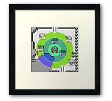 Pokemon Roar of Time Framed Print
