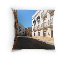Turre street Throw Pillow