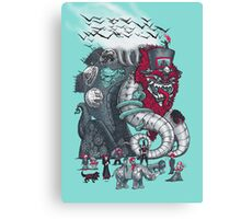 Dark Circusbot Canvas Print
