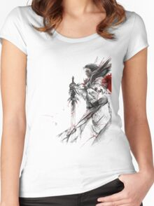 Guild Wars 2 Class Women's Fitted Scoop T-Shirt