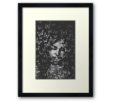 """I preferred the world of imagination to the death of sleep""  ― Gloria E. Anzaldúa Framed Print"