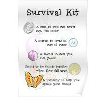 Survival Kit Poster