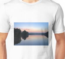 Another Swamp Sunrise Near Home Unisex T-Shirt