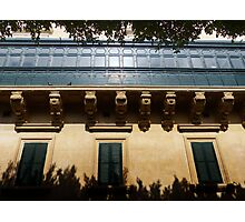 Shaded Facade Photographic Print