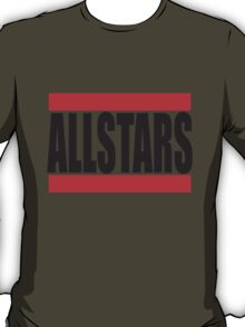 Cool Allstars Team Logo Design T-Shirt