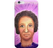 Beautiful Singer - Soft Pastels iPhone Case/Skin