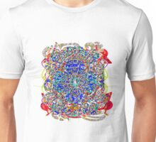 Cockrell In Aztec Form Drawn Unisex T-Shirt