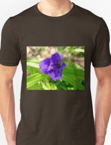 Purple Flower & Insect Unisex T-Shirt