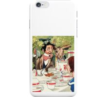 Vintage illustration Alice in Wonderland  iPhone Case/Skin