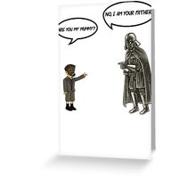 Mummy or Father Greeting Card