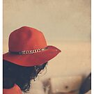 lady in red by Jessica  Lia