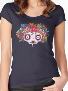 Catrina Skelly Women's Fitted Scoop T-Shirt