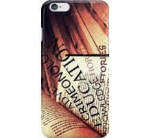 Book of knowledge iPhone Case/Skin
