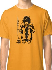 Anime With A Cup Of Coffee Classic T-Shirt