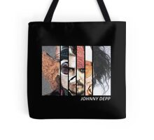 Johnny Depp Characters Tote Bag