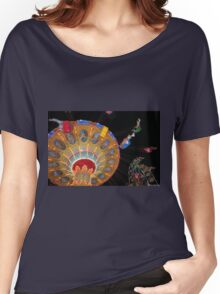 Swing Ride in Action Women's Relaxed Fit T-Shirt