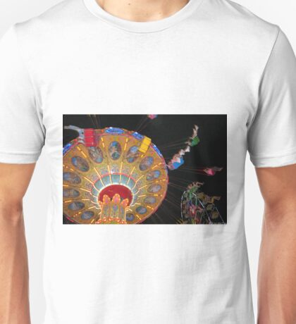 Swing Ride in Action Unisex T-Shirt