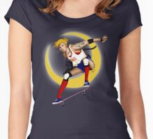 Hello Sailor Sk8 Women's Fitted Scoop T-Shirt