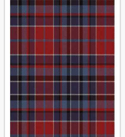 02532 Providence County, Rhode Island Fashion Tartan Sticker