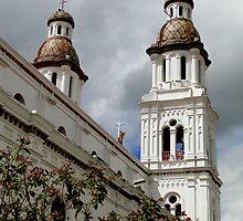 Santo Domingo Spires by Al Bourassa