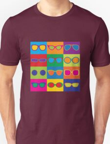 Pop Art Eyeglasses Unisex T-Shirt