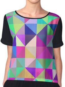 Geometric Shapes Chiffon Top