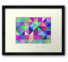 Geometric Shapes Framed Print