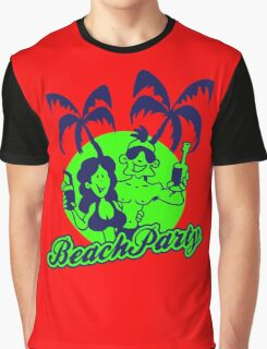Beach Party Graphic T-Shirt
