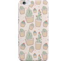 Cactus and Succulent Plants iPhone Case/Skin