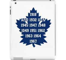 TML Stanley Cup Years V.2 iPad Case/Skin