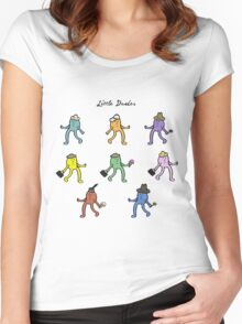 Little Dudes Women's Fitted Scoop T-Shirt