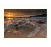 Sunset - Donegal Art Print
