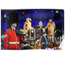 Soldier & Royal coach Poster