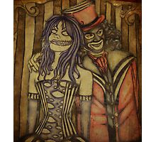 Twisted the Clown and Papa Lazarou Photographic Print