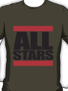 Allstars Team Logo Design T-Shirt