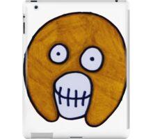 Boosh Skull - Brown  iPad Case/Skin
