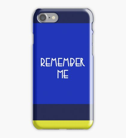 We will never forget you iPhone Case/Skin