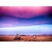 Colorado Country Intense Morning View Photographic Print