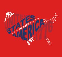 United States Est 1776 One Piece - Long Sleeve