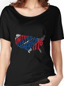 United States Est 1776 Women's Relaxed Fit T-Shirt