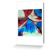 Crossing Winds Greeting Card