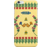Hungarian Patterns iPhone Case/Skin