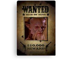 Buffy D'Hoffryn Wanted Canvas Print
