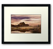 Black Sage Dawn Framed Print