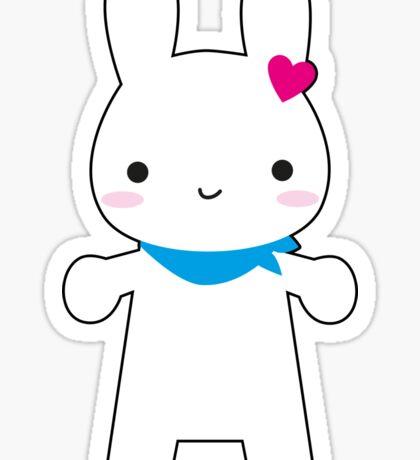 Super Cute Kawaii Bunny Sticker