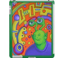 Portrait of Rusty the Alien iPad Case/Skin
