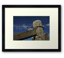 Nothin' But Blue Skies Framed Print